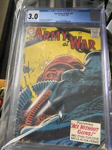 Our Army At War #74 Sept 1958 CGC 3.0