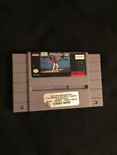 True Golf Classics: Waialae Country Club (Super Nintendo, 1993) NES GAME ! Cart!