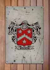 Flynn Coat of Arms A4 Aged Retro 10x8 Metal Sign Aluminium Heraldry