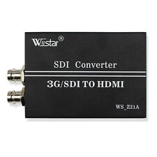 Wiistar 1080P 3G/SDI to HDMI SD/HD SDI-HDMI 3G-SDI Video Converter