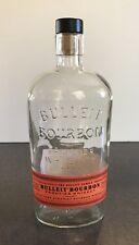 Individual Bulleit Bourbon Bottle EMPTY Frontier Whiskey Kentucky Straight 750ml