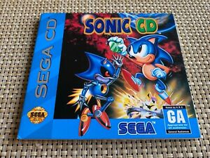 SONIC CD - SEGA CD IN GREAT CONDITION WITH MANUAL!
