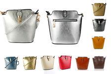 Women's New Messenger Cross-Body Handbag/Ladies Faux Leather PU Shoulder Bags