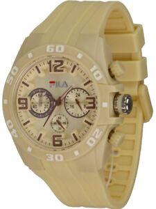 Fila Watch Dimension pearl Unisex Chronograph Quarzuhr Stoppuhr