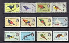 British Honduras 1962 Birds SG 202-13 LMM