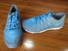 New Nike Free Trainer 5.0 V6 Running Shoes Mens 10 Blue/Grey 719922-044