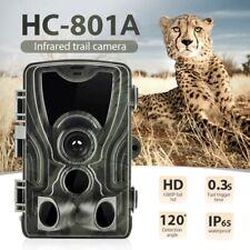 HC801A Hunting Trail Camera 16MP 1080P HD Video Night Vision IP65 IR Cam Trap QK