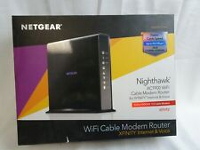 NETGEAR Nighthawk AC1900 WiFi Cable Modem Router for XFINITY Internet and Voice