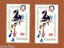 "Canada Postage Stamp error color shift ""Closed mouth - Terry Fox "" 1982 #915"