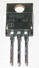 IRF520 N-Channel Power MOSFET - 100V - 9.2 Amperes - Fast Switching FET
