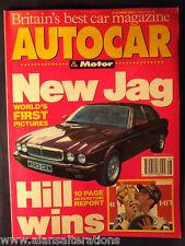 AUTOCAR & MOTOR Magazine 13/7/94 Jaguar XJ6 among others