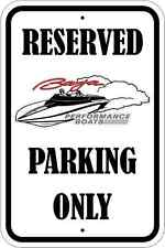 BAJA BOAT PARKING ONLY SIGN * NEW * QUALITY ALUMINUM SIGNS