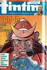B20- Tintin N°600 Le Japon,Buddy Longway +Poster Novembre Ian Kaledine