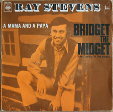 "RAY STEVENS ""BRIDGET THE MIDGET""    45 TOURS"