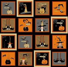Cotton Quilt Fabric Witchy Studio E Halloween 3710-39 Quilting Sewing BTY
