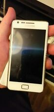 faulty Samsung Galaxy S II GT-I9100p Ceramic White  Smartphone o2 only