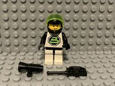 LEGO Vintage Black Tron Minifigure Sp 002 Space Police