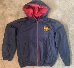 Barcelona FAN Football Jacket, Youth age 8-9 years old