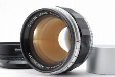 【Rare !! MINT】 Canon 50mm f/1.2 Leica Screw Mount LTM w/ Hood from Japan #1489