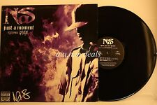 """Nas - Just a Moment/These Are Our Heroes - Sony Legacy Records  LP 12"""" (VG)"""