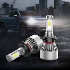 2X H7 LED Headlight Bulbs Conversion Kit High Low Beam Fog Lamp 6000K 72W 8000ML