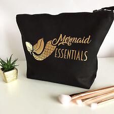 Mermaid LARGE Make Up/Cosmetic/Toiletry Bag