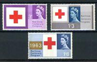 Großbritannien MiNr. 362-64 y postfrisch MNH Rotes Kreuz (R5699