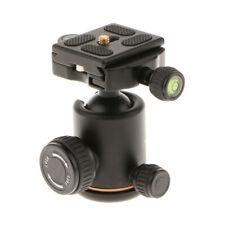 "QZSD Q06 Aluminum Camera Tripod Ball Head w/ Quick Release Plate 1/4"" Screw"