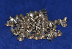 """Tubular Rivets - Nickle Plated - 3/16"""" - Pack of 1000 (B35)"""