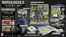 NEW! WATCH DOGS 2 The Return of Dedsec Limited Collectors Case Edition XBOX ONE