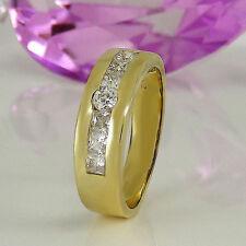 Reinheit VS Echte Diamanten-Ringe mit Prinzess für Damen