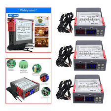 Dual Digital Incubator Thermostat Temperature Controller Two Output