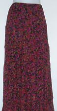 Ruby Pd. Woman Plus Size Chiffon Flounce Skirt Multi-Color 24W NWT