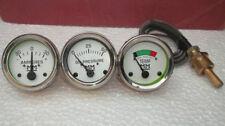 Minneapolis Moline Temp Oil Pr Ampere Gauge Set Gruz335400445 500 600