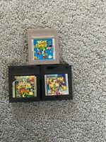 Game & Watch Gallery 2 3 Yoshis Cookie Nintendo Game Boy Color GBC GB SP Advance