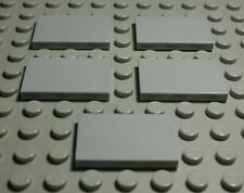 Lego Fliese - Kachel 2x3 new Grau 5 Stück                                 (2101)