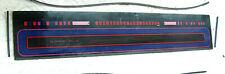 Vtg Off Un Rockola Juke-Box Modèle 454 OEM Haut Section Verre Housse Pièce Grade