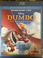 Disney's Dumbo (Blu-ray/DVD, 2011, 2-Disc Set, 70th Anniversary Edition) NEW!