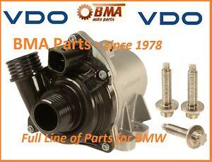 OEM BMW E60 E61 E71 E82 E88 E90 E92 F01 F02 F10 335i 535i WATER PUMP W/BOLTS KIT