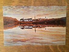Vintage Postcard CANADA painting - REFLECTION - Saint-Joseph, Nouveau Brunswick