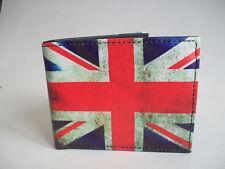 """Portefeuille déco drapeau anglais """"union jack"""" façon vintage"""