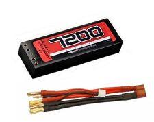 Absima 4150003 LiPo Stick Paquet 7,4 V 110C 7200mAh étui solide Double Tubes