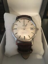 Auth OMEGA Genève Cal.565 Automatic Date Silver Dial Men's Watch o#71350