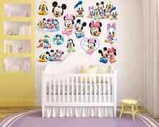 Mickey Mouse Clubhouse Room Decor Nursery-  Wall Decal Removable Sticker