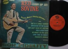 Country Lp Red Sovine The Sensational On Nashville