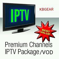12 Months Premium Pass 🔥~ Smart IPTV /Mag 250/254/256  IPTV & VOD~2400+Chls ppv