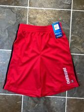NWT CHAMPION BOYS Authentic Athletic Basketball shorts Red Sz 10/12