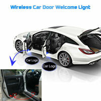 2 x Wireless Car LED Door Welcome Projector Logo Ghost Shadow Laser light UK