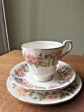 Vintage Paragon Country Lane Trio Tea Plate Cup & Saucer Tea for one!