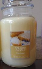 Yankee Candle  Shortbread   22 oz. 1 SINGLE  NEW Free Shipping